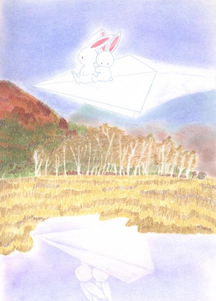 紙飛行機で尾瀬の空を.jpg